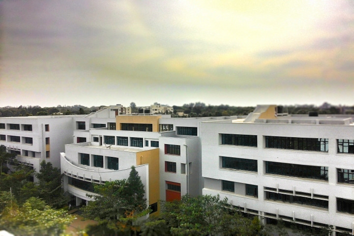 Campus View of BMS Institute of Technology and Management Bangalore Campus View